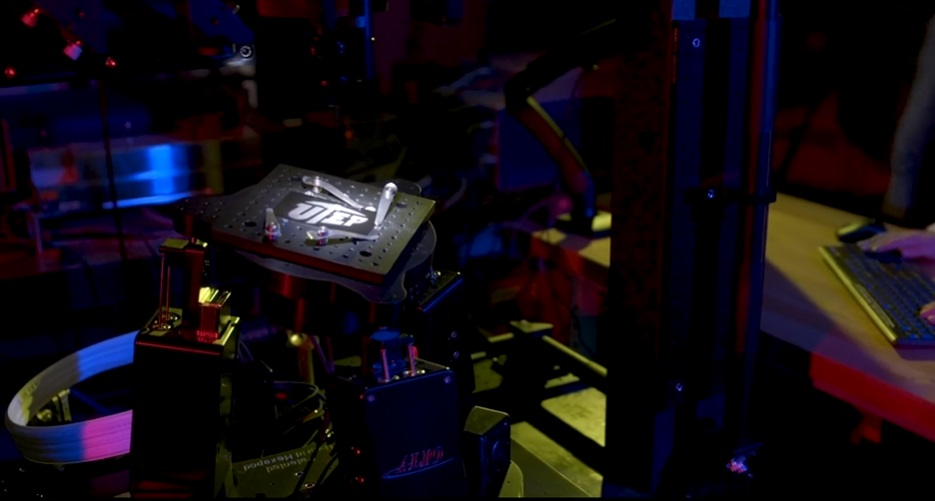 UTEP Femtosecond Laser Machine  | Photo courtesy UTEP