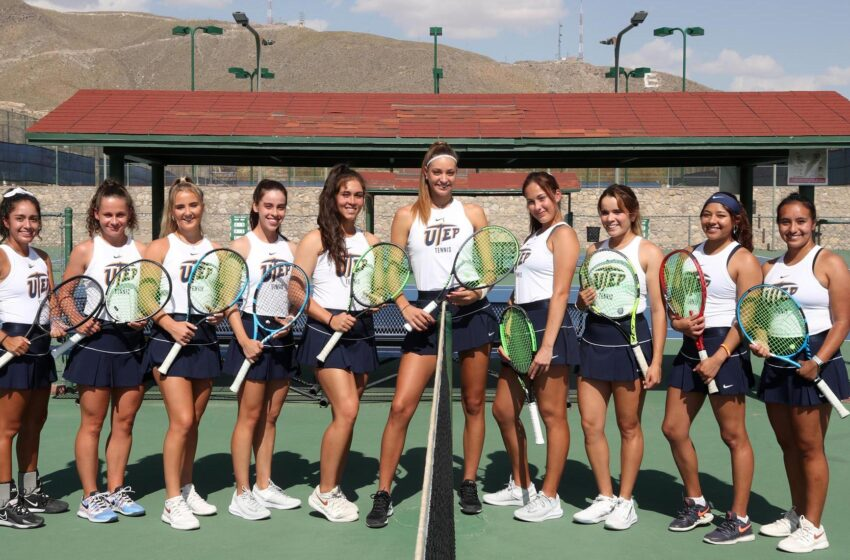 UTEP Tennis Team headed to Las Vegas for two matches