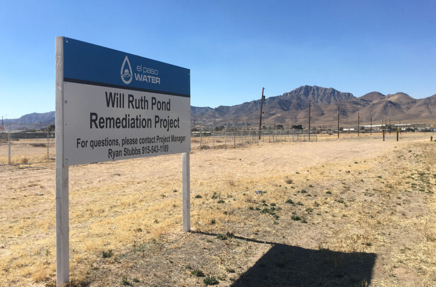 El Paso Water's Will Ruth Stormwater Pond next step for protecting residents