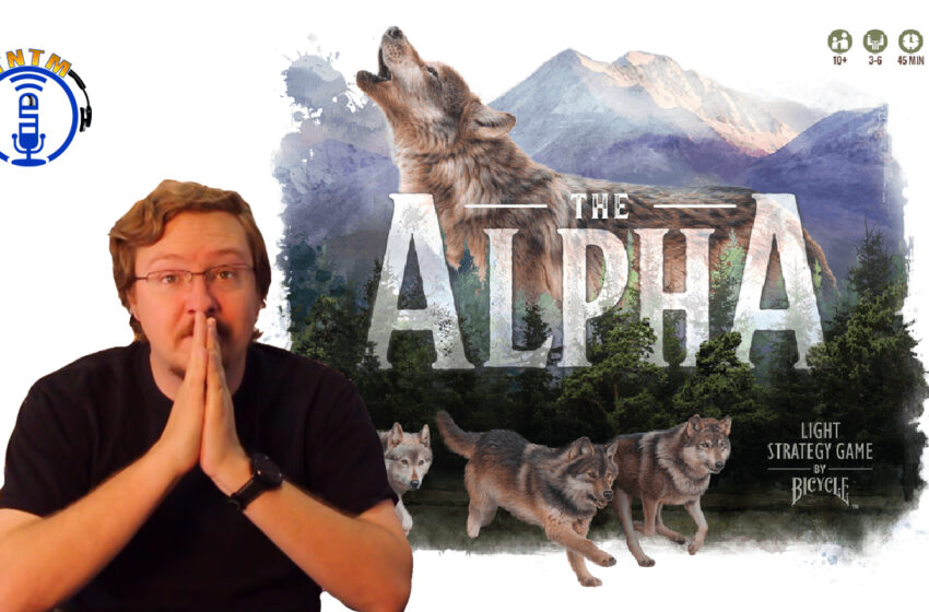 VLog: TNTM's Danny shows us how to play The Alpha by Games by Bicycle
