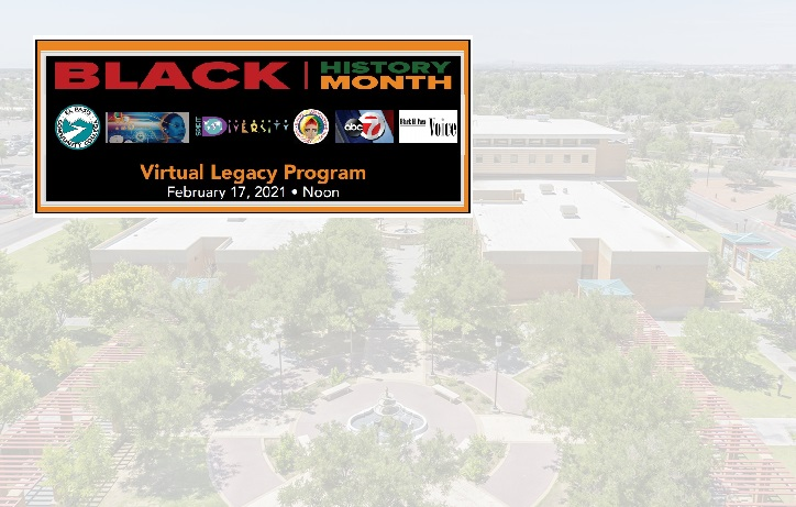 UPDATE: EPCC's Black History Month live streaming event rescheduled for Friday