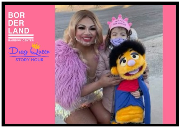 Local Drag Queen Story Hour performer at child's birthday party becomes internet hit