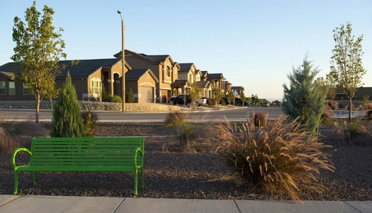 Mission Ridge is a 4,763-acre master-planned community in East El Paso, Texas, located at I-10 and Eastlake Boulevard  | Photo courtesy Hunt