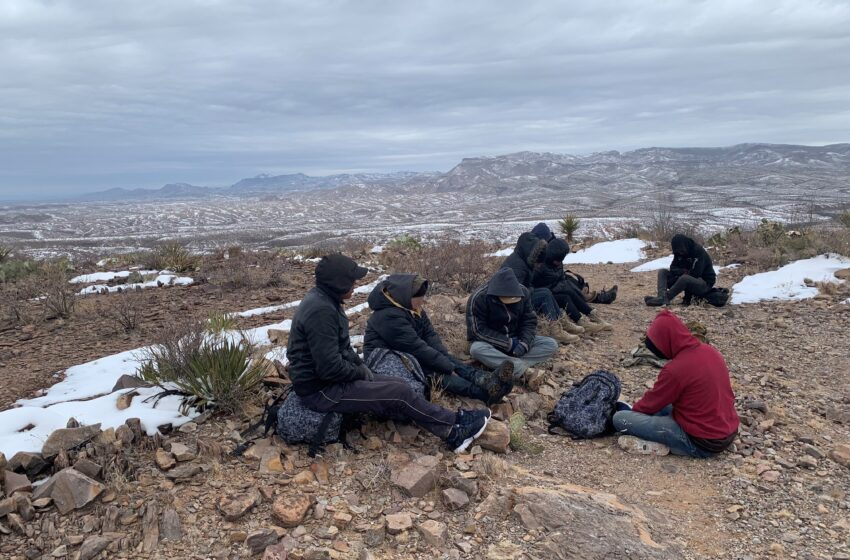 Big Bend Border Patrol Agents save 200+ during Winter Storms