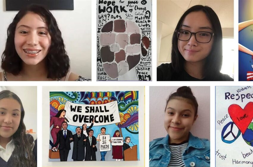 4 Socorro ISD students earn top spots in first-ever Racial Harmony Art Contest