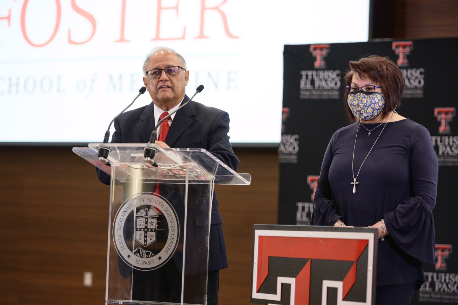 Dionicio Alvarez, M.D., and Wife Alice  | Photo courtesy TTUHSC El Paso
