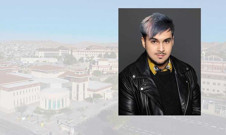 Amparán is a two-time UTEP graduate who earned his bachelor's degree in English and American Literature in 2012 and his MFA in creative writing six years later.  | Photos courtesy UTEP