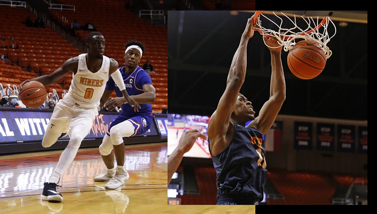 UTEP hoop's Boum, Williams earn All-Conference USA Third Team Honors