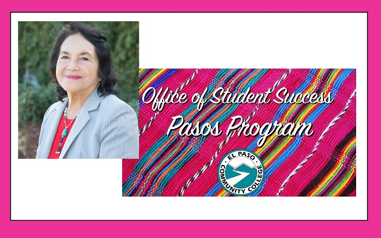 Civil rights and labor activist Dolores Huerta to speak with EPCC students, community