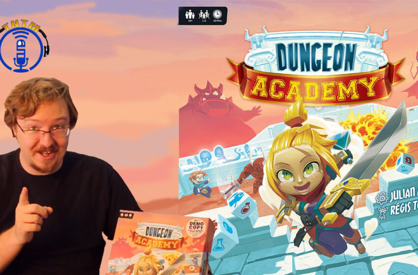 VLog: TNTM's Danny shows you how to play Dungeon Academy by The OP
