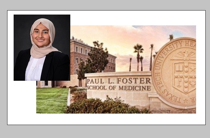 Marah Hamdan  | Photo courtesy TTUHSC El Paso
