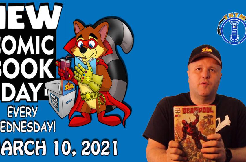 VLog: TNTM's Troy New Comic Book Day reviews