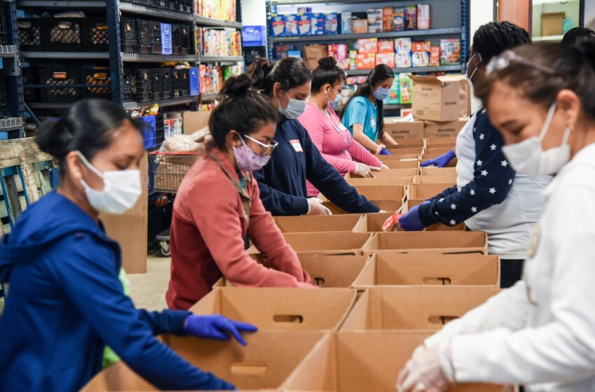 Get Shift Done celebrates one year anniversary of support for Non-Profits, Hunger Relief