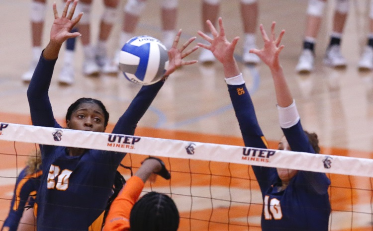 UTEP Volleyball returns to face Rice Sunday, Monday