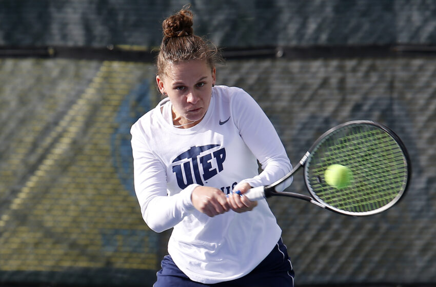 Miner Tennis hits the road to battle New Mexico