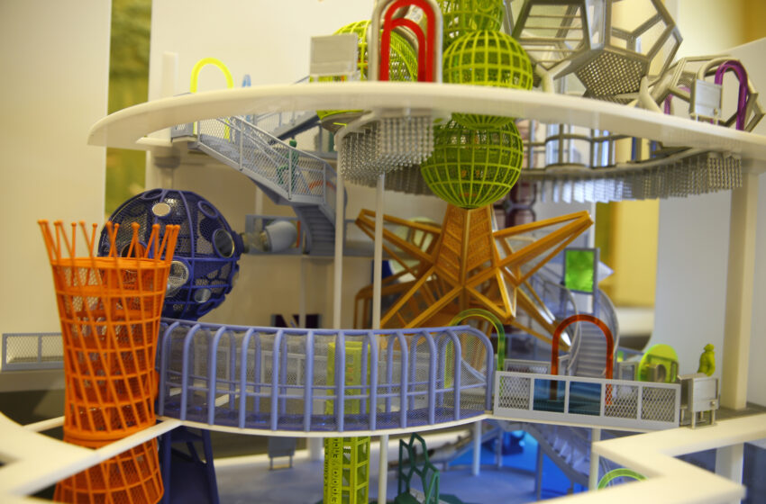 Gallery+Story: El Paso Children's Museum reveals 'Anything's Possible Climber,' $5m donation