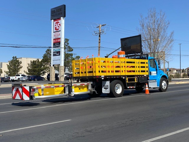 EP Water invests in work crew safety via purchase of new mobile crash cushion