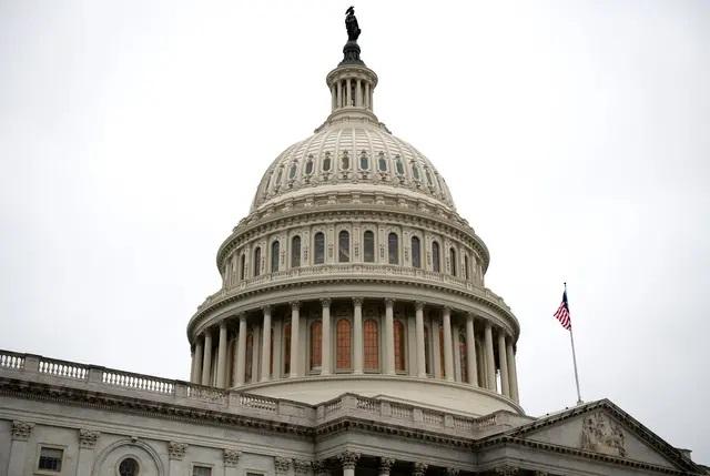 The U.S. Capitol Building in Washington, D.C. on April 20, 2020. Credit: Graeme Sloan/Sipa USA via REUTERS