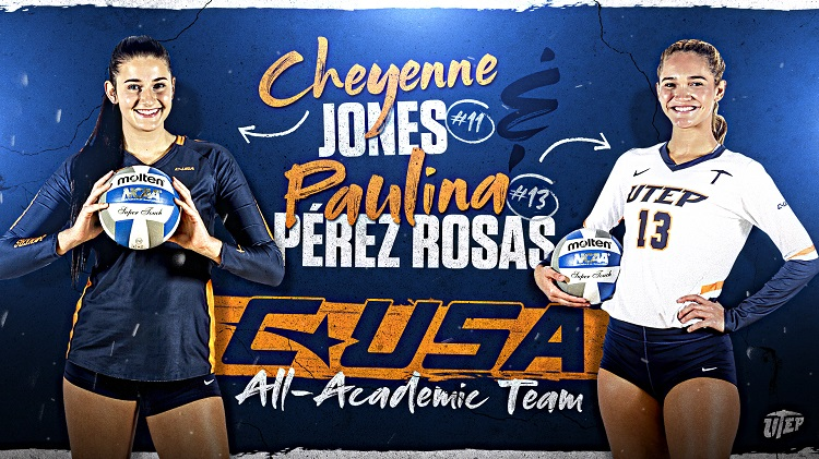 Cheyenne Jones, Paulina Pérez Rosas named to C-USA All-Academic Team