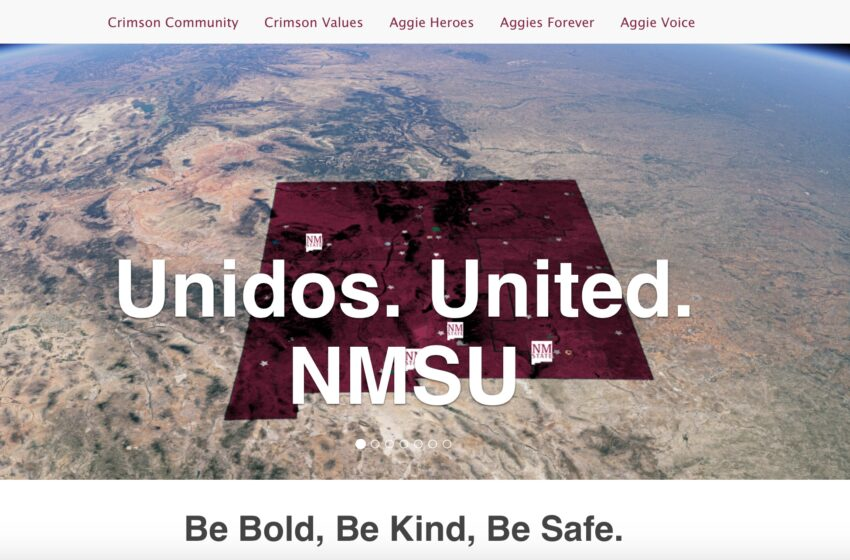 Unidos. United. website launches to enhance NMSU climate, culture