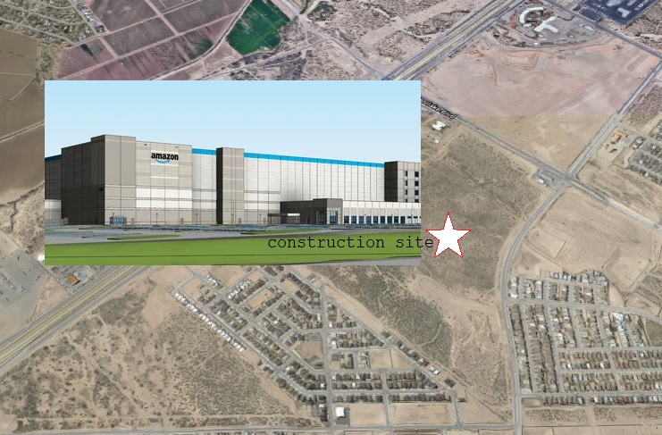 Update: Skeletal limb found at construction site of new Amazon facility in Far East El Paso