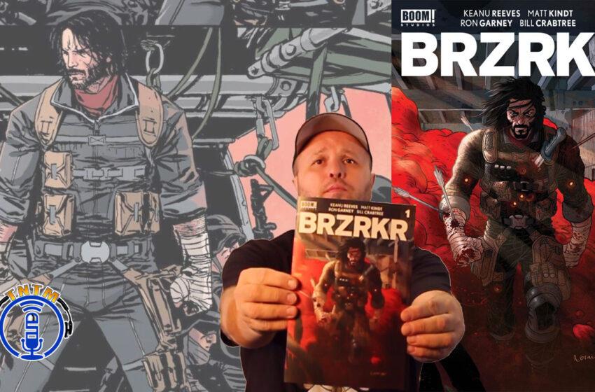 VLog: TNTM's review of BRZRKR by Boom Studios