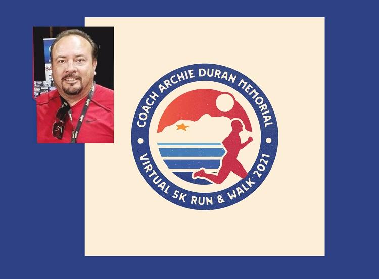 3rd Annual Coach Archie Duran Memorial 5K returns as a virtual event