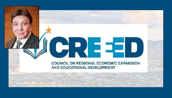 CREEED Chairman Richard A. Castro honored with 2021 Texas Higher Education Distinguished Service Award