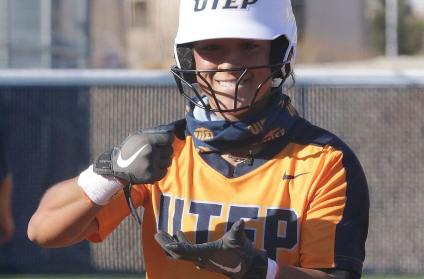 Allen, Cathey, Molina Combine for 13 RBIs in Miner Softball's win over Montana