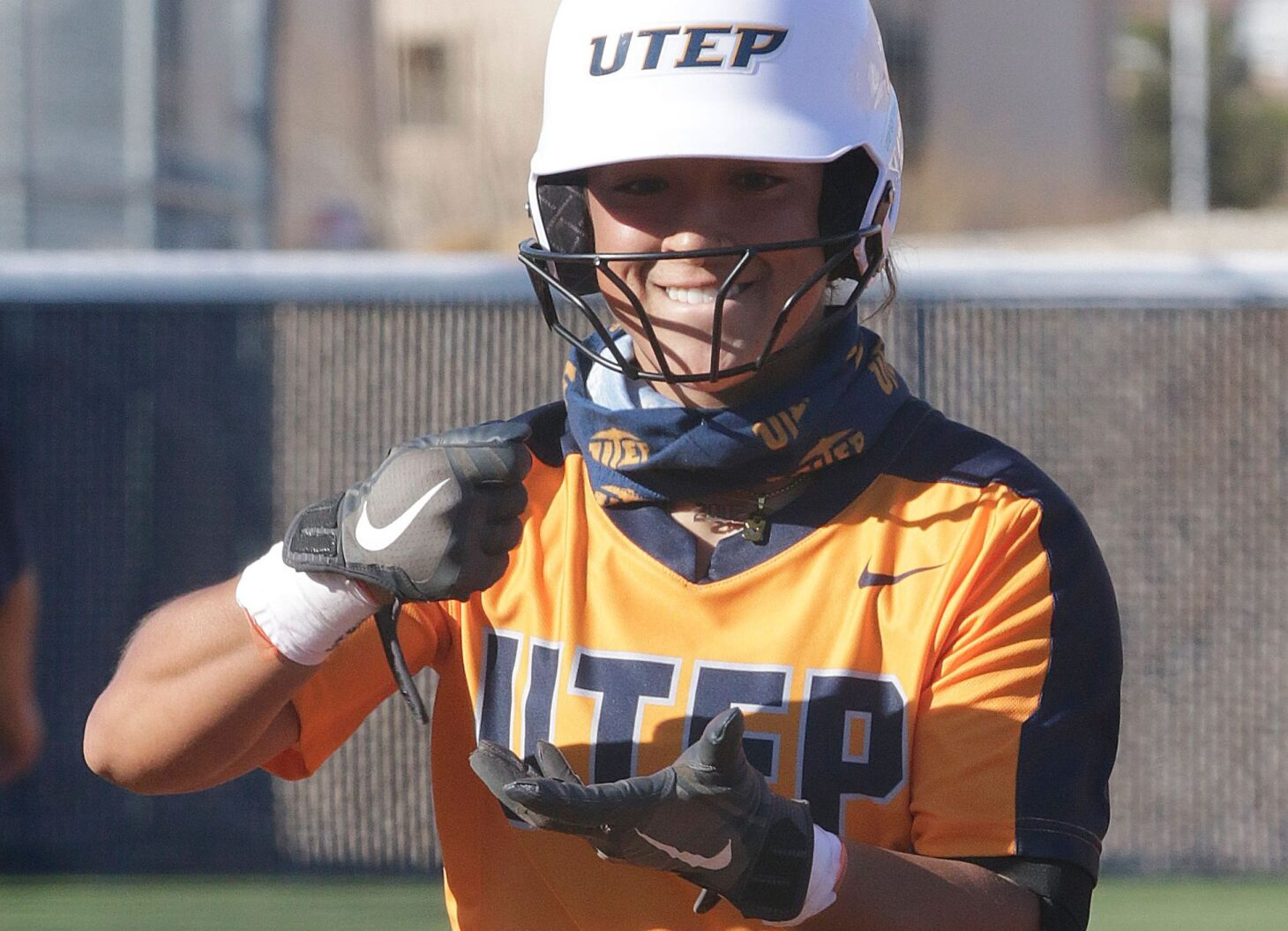 UTEP OF Ashlynn Allen  |  Photo by Ruben R. Ramirez – UTEP Athletics