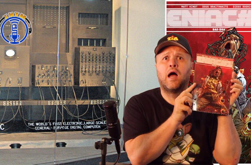 VLog: TNTM's review of ENIAC#1 by Bad Idea Comics