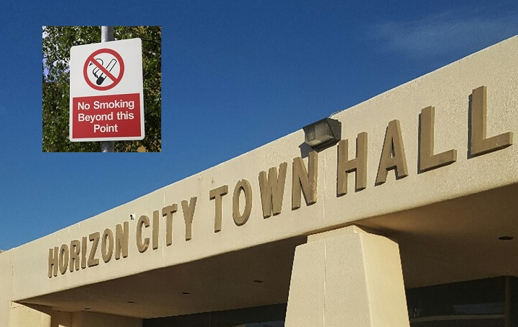Horizon City Council unanimously passes Smoke-Free Ordinance