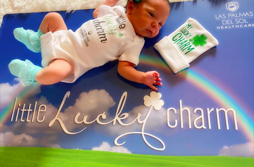 Gallery: Las Palmas Del Sol Healthcare share newborn 'lucky charms' photos