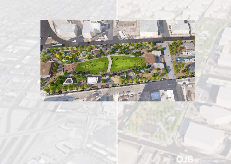 Groups unveil their vision of 'Downtown Deck Plaza' as part of I-10 Reimagine Project