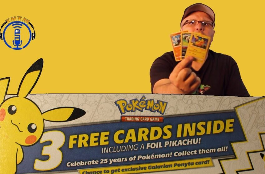 VLog: TNTM's Troy Unbox & Review – General Mills cereal Pokemon cards