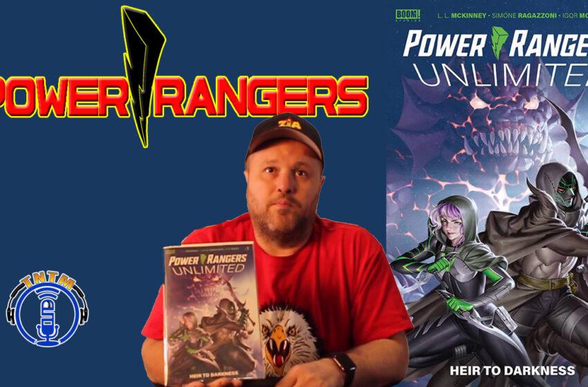 VLog: TNTM's Troy talks Boom Studios! Power Rangers Unlimited Heir to Darkness #1