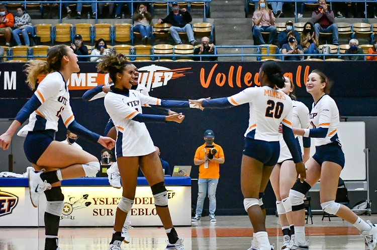 UTEP Volleyball falls to Rice 3-1; Owls win West Division crown