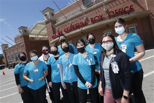 Health Care Heroes: Silva LVN candidates help administer COVID vaccine to El Pasoans