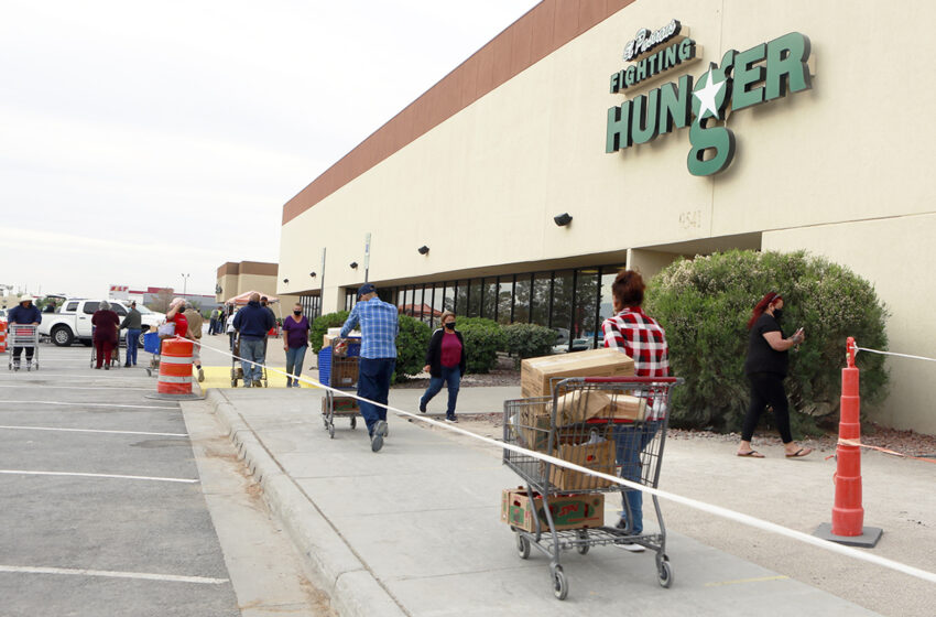 UTEP study shows Pandemic created demand for Emergency Food Assistance in El Paso County