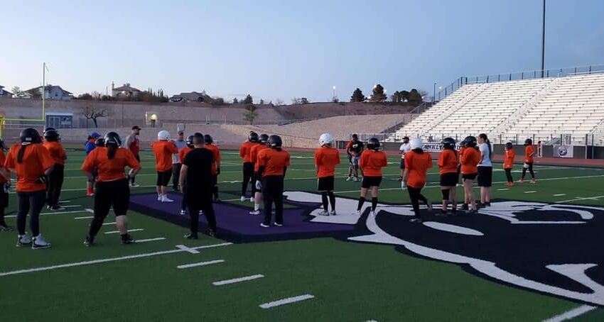 Women's professional football kicks off this Saturday, as Sun City Stealth takes on Denver