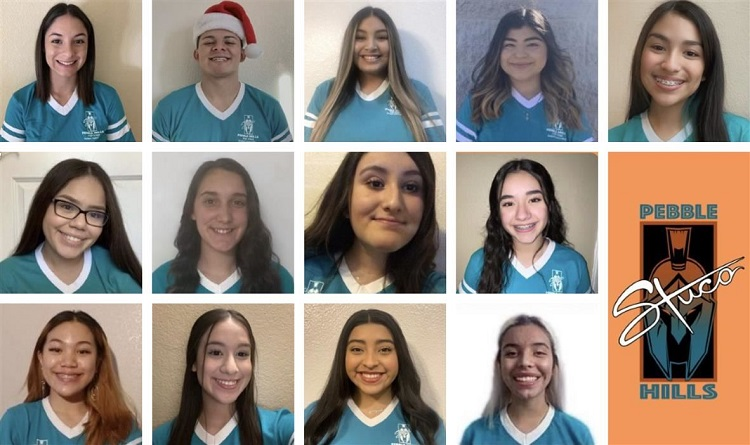 Pebble Hills High School student council  | Photo courtesy SISD