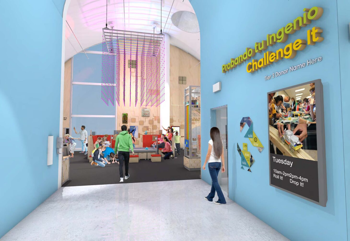 Rendering courtesy El Paso Children's Museum and Science Center