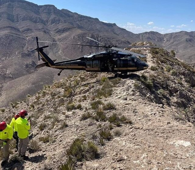 CBP Air and Maine Operations help rescue injured hiker