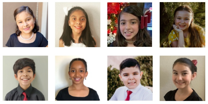 The students participating are Isabella Campuzano, Miguel Ontiveros, Alejandro Ortiz, Vianney Ramos, Sofia Valencia Tolentino, Brianna Greco, Gianna Landin, Isabella Lee, and Bethsaida Rodriguez.  | Photos courtesy Canutillo ISD