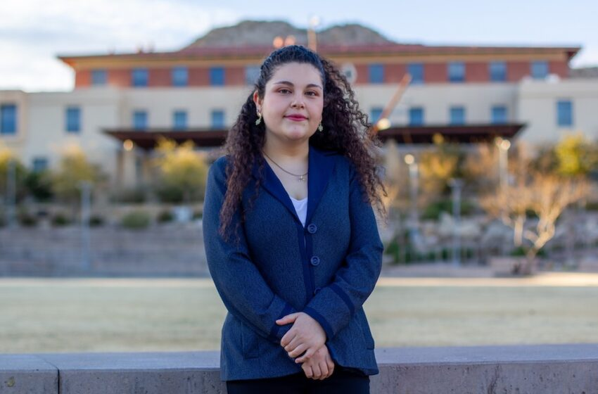 Engineering Student is first UTEP recipient of National Metallurgy Scholarship, Internship