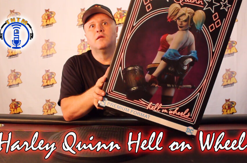 VLog: TNTM's Troy unboxes & reviews Harley Quinn 'Hell on Wheels' from SideShow Collectibles
