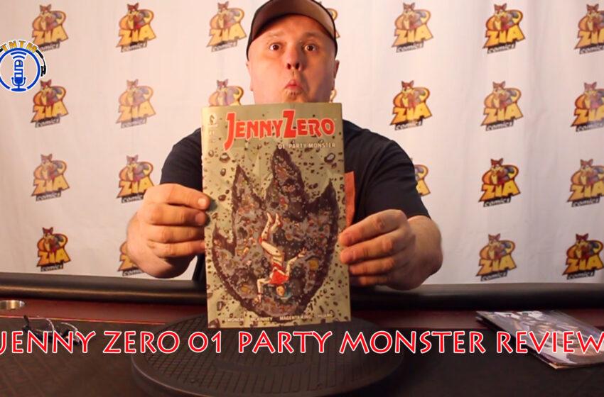 VLog: TNTM's Tory reviews Dark Horse Comics Jenny Zero Party Monster #1