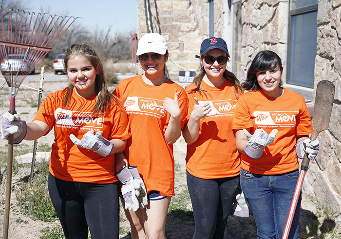 UTEP offers alternatives for Annual Project MOVE Volunteers