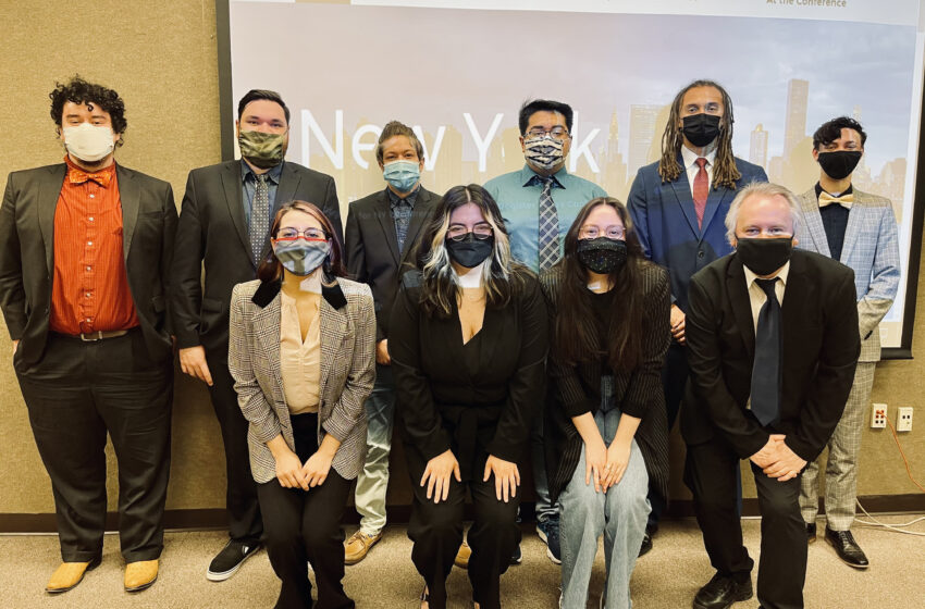 NMSU Model U.N. team receives highest honors at virtual national conference