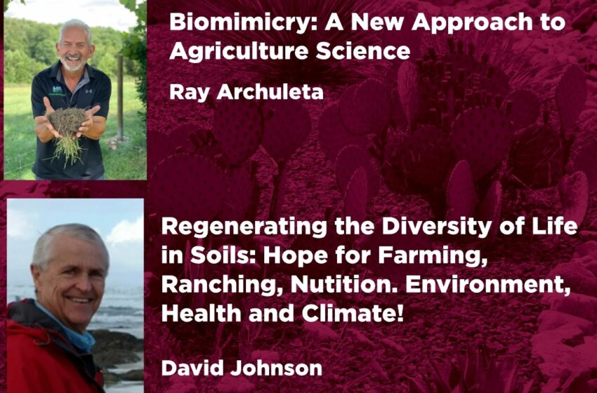 NMSU's next climate change lecture to highlight promise of regenerative agriculture